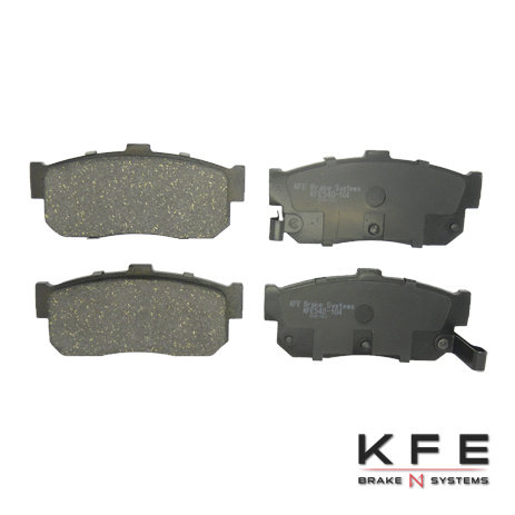 KFE Ultra Quiet Advanced Ceramic Brake Pad - KFE540-104