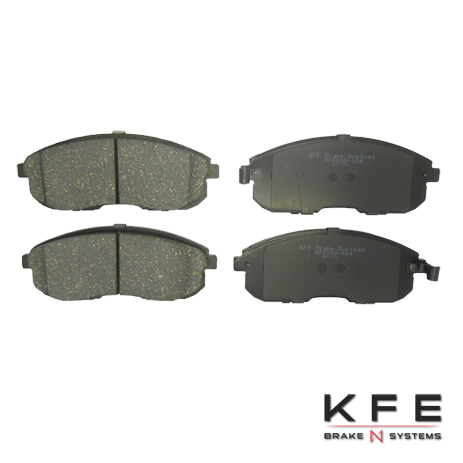 KFE Ultra Quiet Advanced Ceramic Brake Pad - KFE653-104