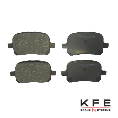 Front Ceramic Brake Pad KFE707-104