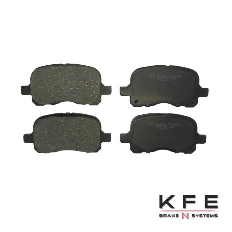 KFE Ultra Quiet Advanced Ceramic Brake Pad - KFE741-104