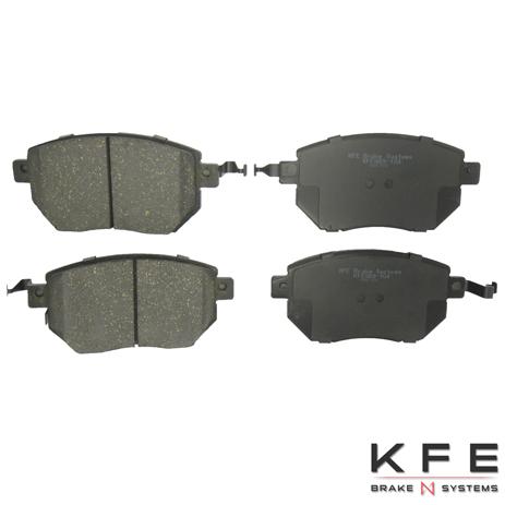 KFE Ultra Quiet Advanced Ceramic Brake Pad - KFE969-104
