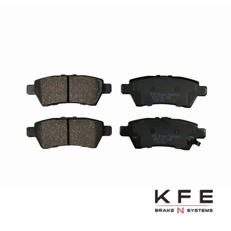 KFE Ultra Quiet Advanced Ceramic Brake Pad - KFE1101-104