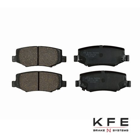 KFE Ultra Quiet Advanced Ceramic Brake Pad - KFE1274-104