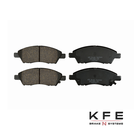 KFE1592-104 KFE Ultra Quiet Advanced Front Ceramic Brake Pad