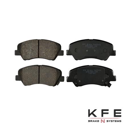 KFE Ultra Quiet Advanced Ceramic Brake Pad - KFE1593-104