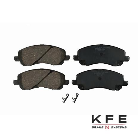 KFE Ultra Quiet Advanced Ceramic Brake Pad - KFE866-104