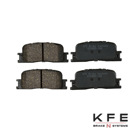 KFE885-104 Ultra Quiet Advanced Ceramic Brake Pad