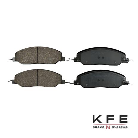 KFE1081-104 Ultra Quiet Advanced Ceramic Brake Pad
