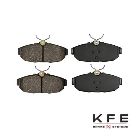 KFE1082-104 Ultra Quiet Advanced Ceramic Brake Pad