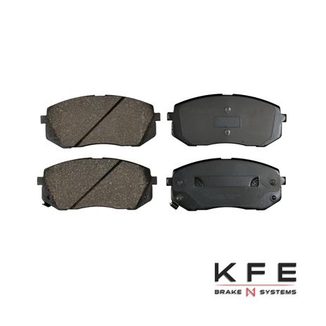 KFE1295-104 Ultra Quiet Advanced Ceramic Brake Pad