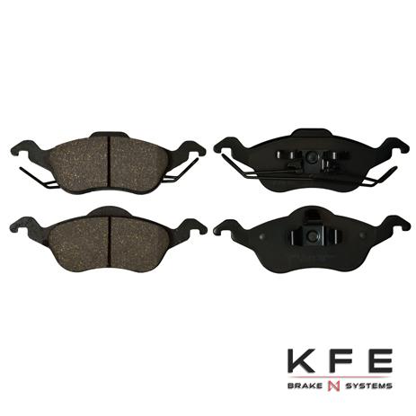KFE816-104 Ultra Quiet Advanced Ceramic Brake Pad