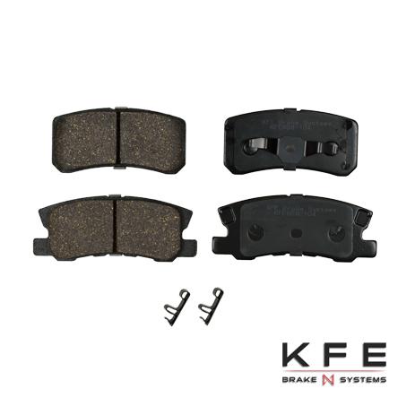 KFE868-104 Ultra Quiet Advanced Ceramic Brake Pad